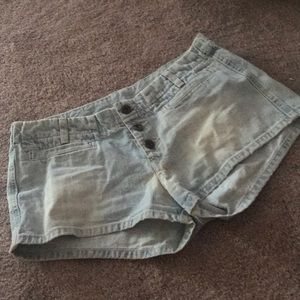 Lucky Brand Jean Shorts Dungarees